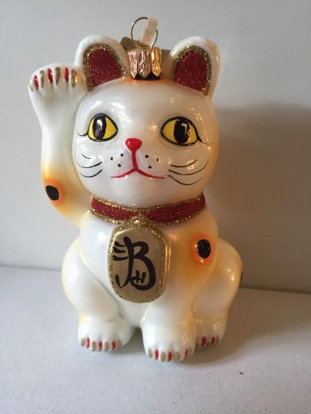 Maneki-Neko , japanische Glückskatze