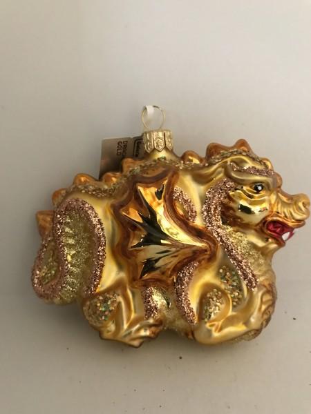 Chinesischer Drachen Gold