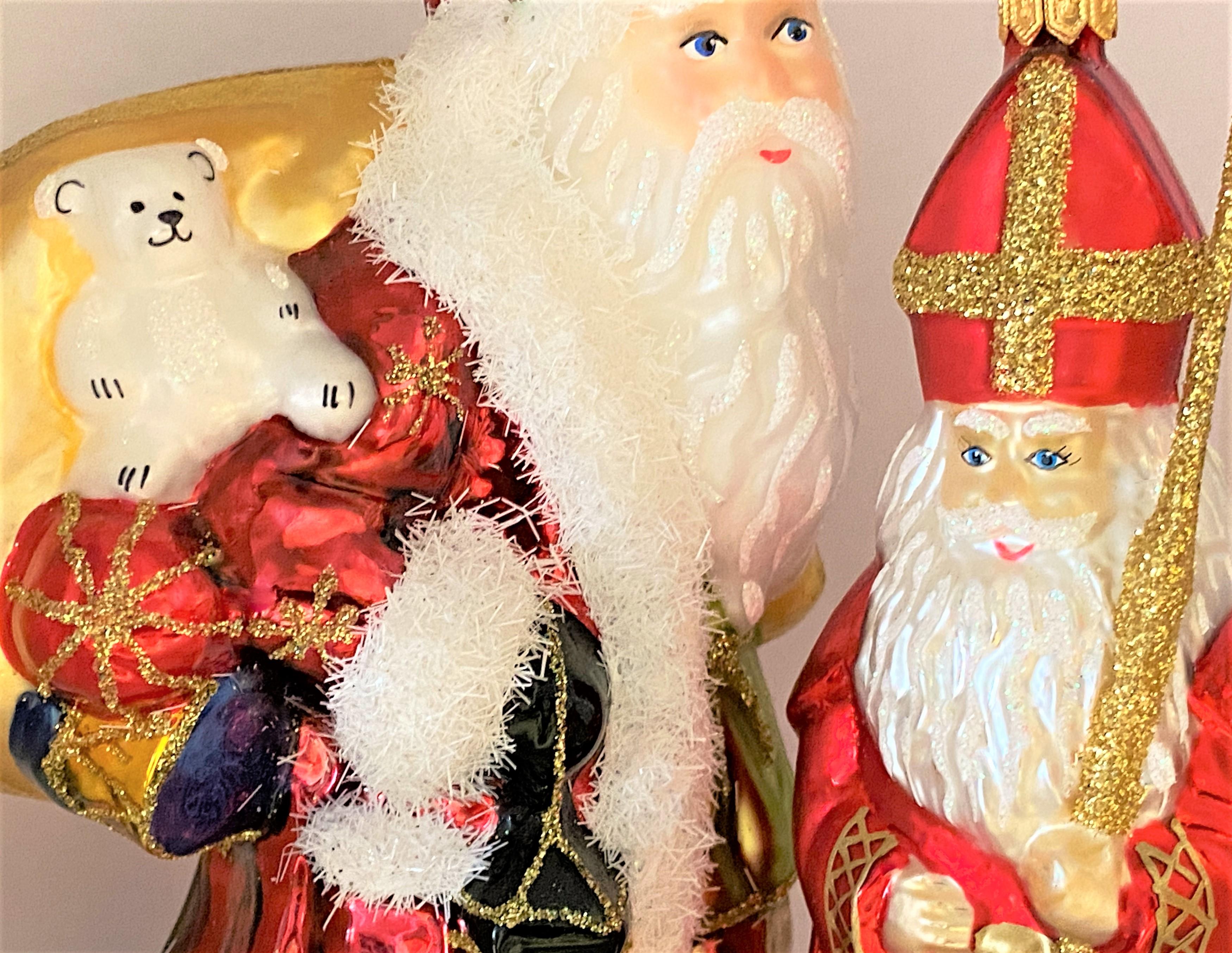 Nikolaus, Santa und Weihnachtsmann
