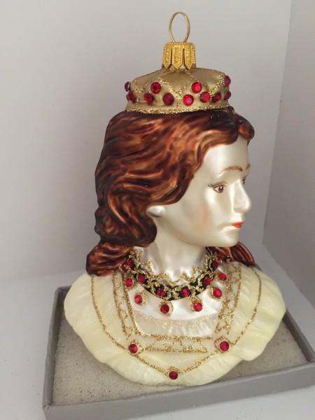 Sissi Büste mit Krone
