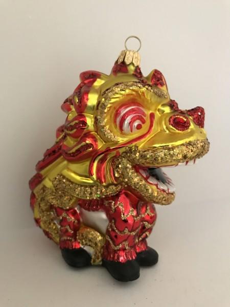 Chinesische Drachentänzer