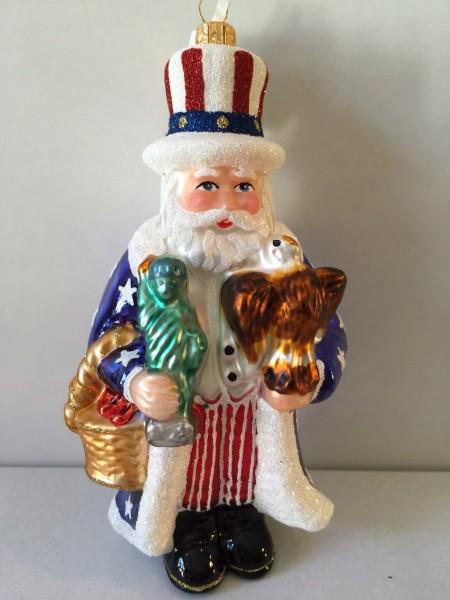 Santa Uncle Sam, New York