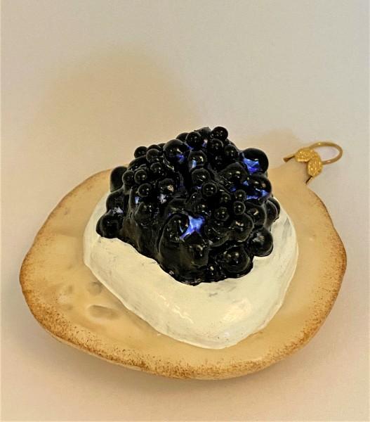 Kaviar-Brötchen