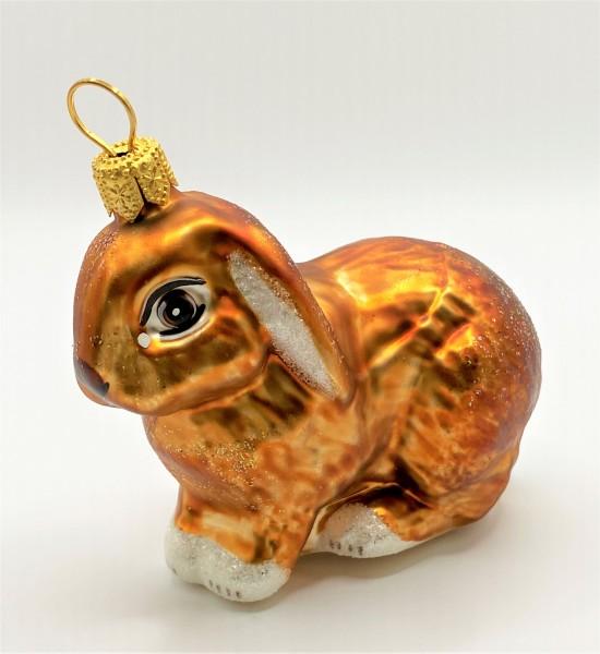 Goldbraunes Kaninchen mit Lampiohren