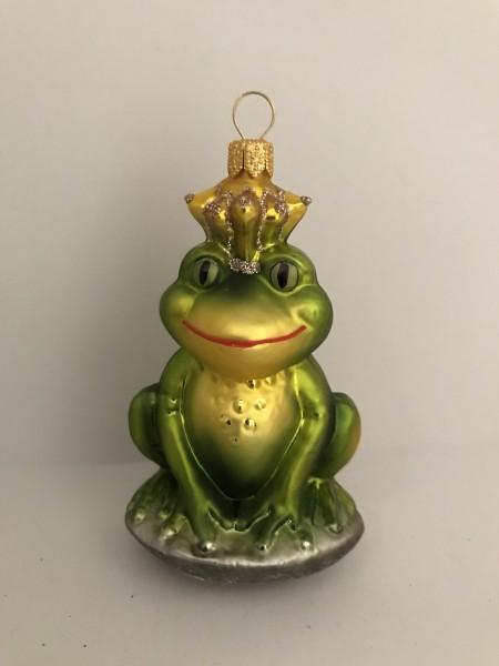 Fröhlicher Froschkönig