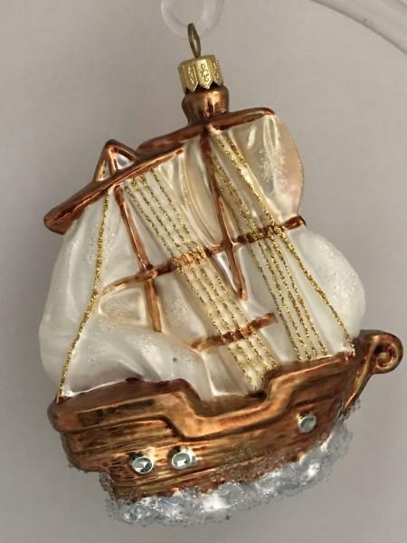 Zweimaster Segelschiff
