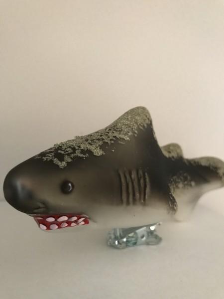 Bissiger Haifisch auf Chlip