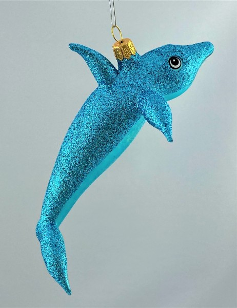 Glitzer-Delfin