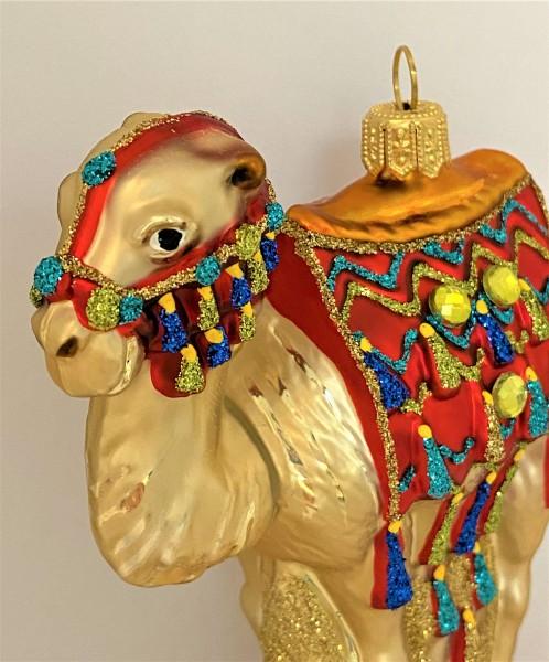Kamel mit Reitsattel