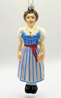 St.Galler Trachten-Frau