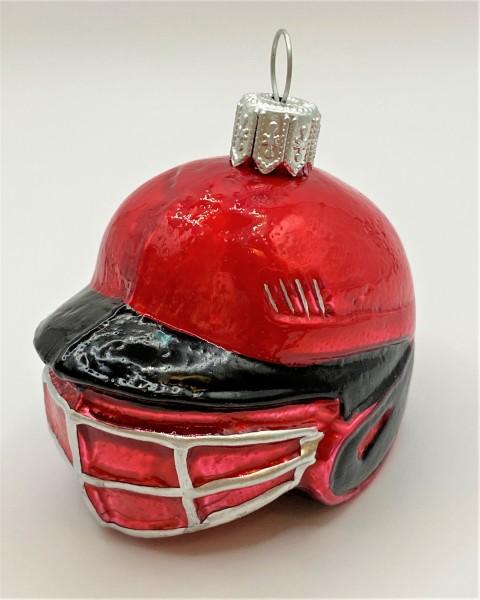 Baseball Catcher Helm, rot