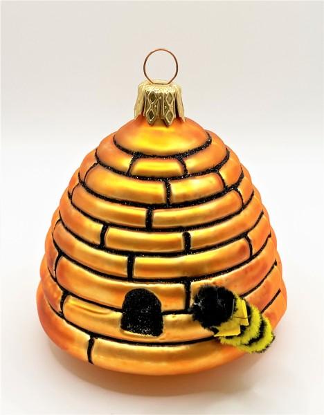 Bienenstock mit Biene