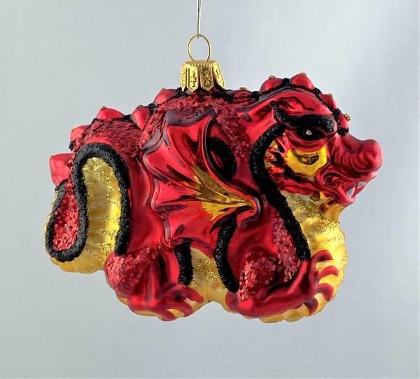 Roter chinesischer Drachen