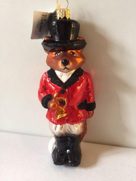 Fuchs im roten Jagdrock