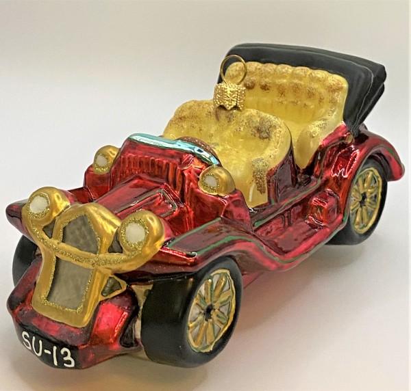 Rotes Oldtimer Cabriolet