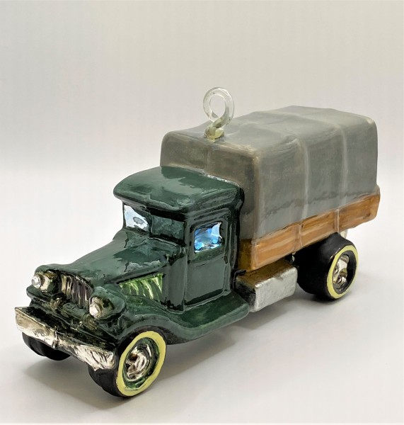 Oldtimer Lastwagen Lori, KOMOZJA MOSTOWSKI