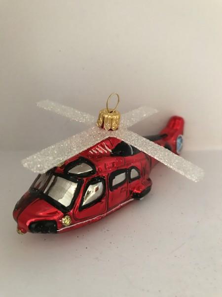 Helikopter, rot