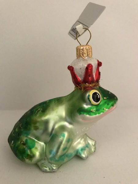 Froschkönig mit roter Krone