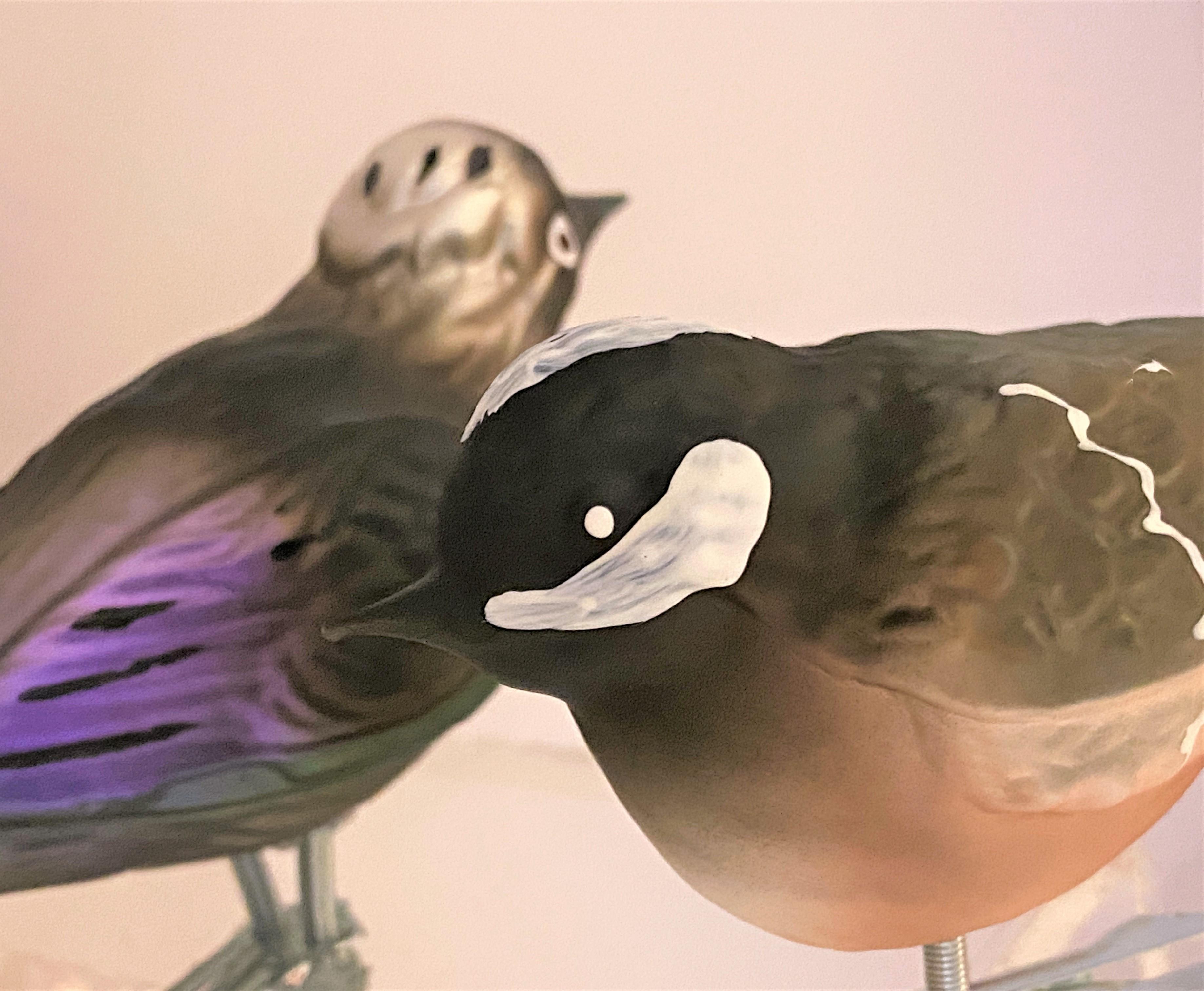 Natürliche Weihnachtsvögeli