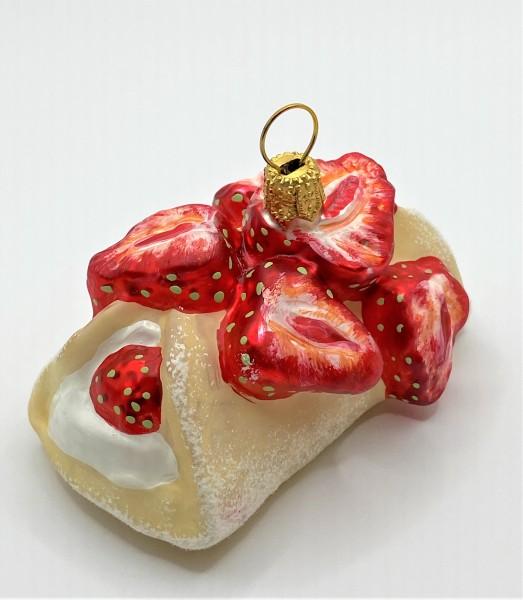 Erdbeer-Crèpe