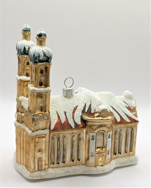 Kathedrale von St. Gallen mit Schnee