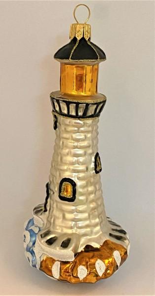 Leuchtturm, weiß