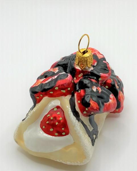 Erdbeer-Crèpes mit Schokolade