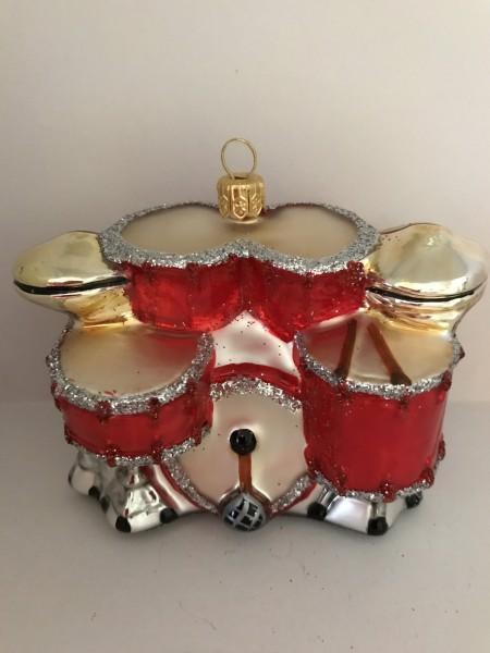 Schlagzeug, rot