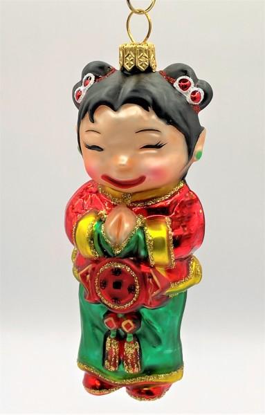 Chinesisches Mädchen, Neu Jahr