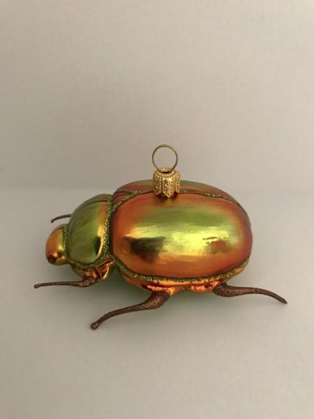 Käfer, orange, grün