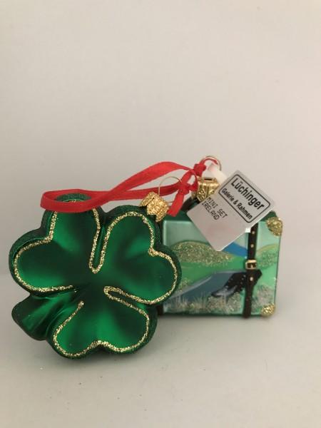 Ireland mit Kleeblatt ,, Set mit Reisekoffer
