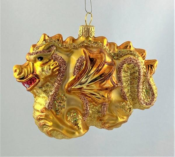 Goldener chinesischer Drachen